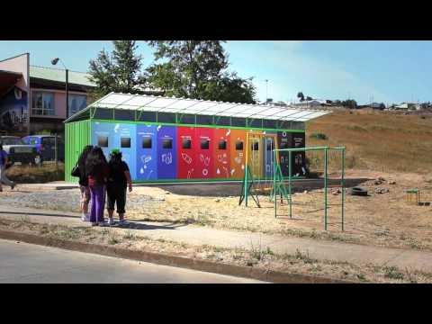 Video de la Fundación de la Familia y el Punto Limpio Social de Chivilcán, Temuco.