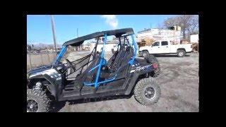 8. RZR 4 800 & 900 Bench Seat Installation