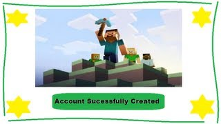 How To Make A Minecraft Account June 2013