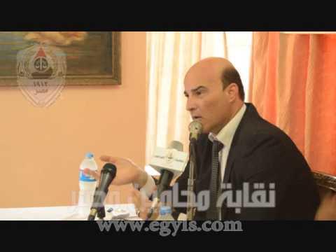 بالفيديو.. كلمة عثمان في حفل تكريم أبناء المحامين المتفوقين