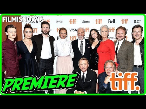 KNIVES OUT | Toronto International Film Festival (TIFF) red carpet & cast interview