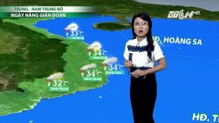 (VTC14)_Thời tiết tổng hợp ngày 20.10.2016, Dự Báo Thời Tiết, Dự Báo Thời Tiết ngày mai, Dự Báo Thời Tiết hôm nay