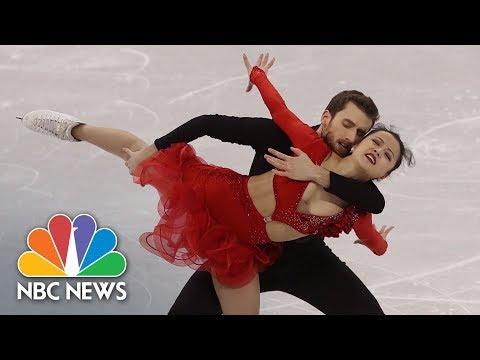Meet The Americans Skating For South Korea | NBC News (видео)