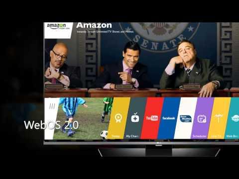 LG Electronics 43LF6300 43-Inch 1080p 120Hz Smart LED TV Overview
