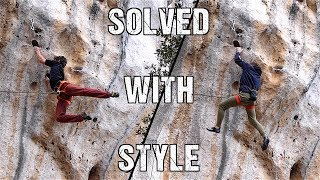 Elegant Solutions on the Hardest 7a+ EVER   Comparison by Mani the Monkey