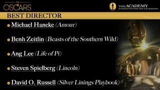 Academy Awards 2013 Oscar Winners - Best Director