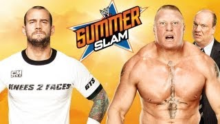 CM Punk Vs. Brock Lesnar - WWE '13 SummerSlam Simulation
