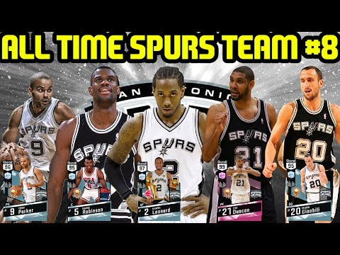 All Time Spurs Team #8! Diamond D Rob Carries! Nba 2k17 Myteam Online Gameplay