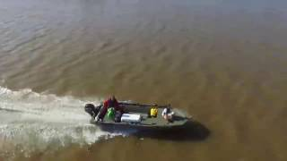 5. 2015 Tracker Grizzly MVX 1648 with a 20hp Mercury