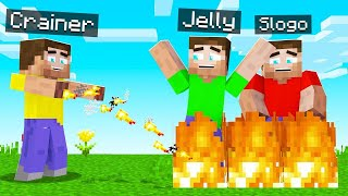 How To BEND FIRE And TROLL Your Friends In MINECRAFT!