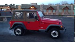 BT Supercharged 2.5 Wrangler pull with burnout