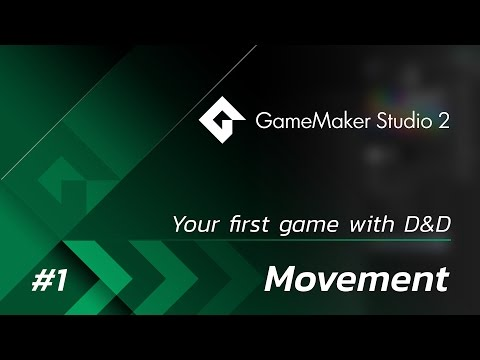 GameMaker Studio 2: Your First Game (DnD) - Part 1