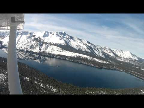 Lake Tahoe Mountain Flight