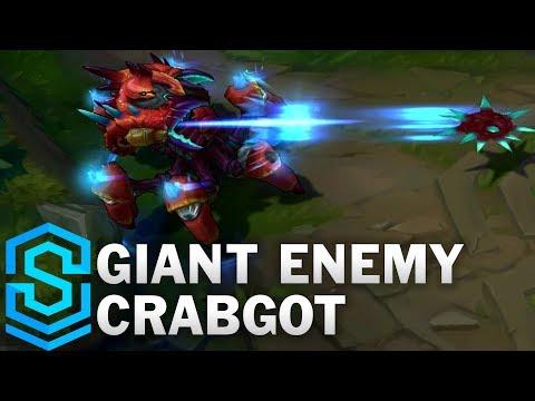 Urgot Cua Khổng Lồ - Giant Enemy Crabgot Skin