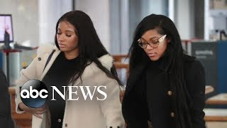 R. Kelly's girlfriends defend him publicly