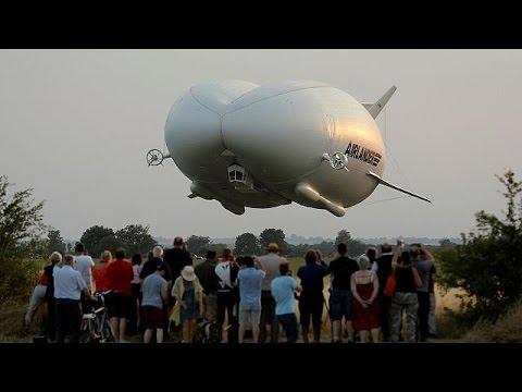 Βρετανία: Παρθενική πτήση για το μεγαλύτερο αεροπλάνο στον κόσμο