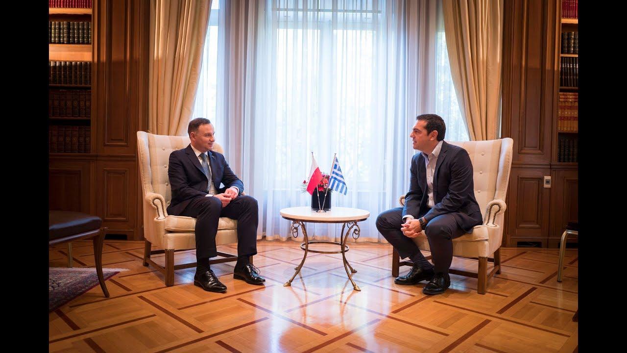 Συνάντηση με τον Πρόεδρο της Δημοκρατίας της Πολωνίας κ. Άντρζεϊ Ντούντα