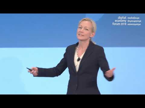 Watch 'Cecilia Bonefeld-Dahl at the Digital economy forum 2018 organised by SEPE in Athene'