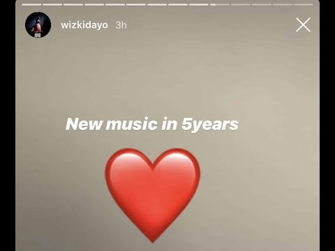 """New Music In Five Years"" - Wizkid"