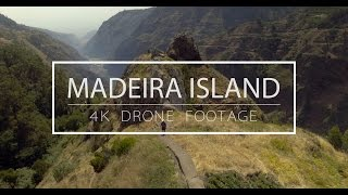 madeira island, drone, view, atlantic ocean, island