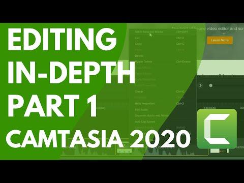 Camtasia: Editing In Depth 1