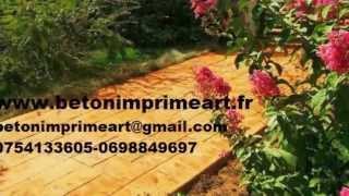Voisins-le-Bretonneux France  city pictures gallery : Beton Imprime Voisins-le-Bretonneux,YouTube,France