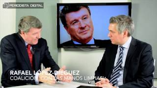 Rafael López-Diéguez, coalición 'Con las manos limpias'. 23-2-2015