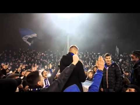 Denis saluta Bergamo e dedica ai tifosi in carcere