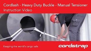 Cordstrap | 5 Cordlash + Heavy Duty Buckle + Manual Tensioner