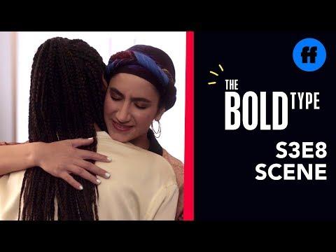 The Bold Type Season 3, Episode 8 | Kat & Adena's Awkward Encounter | Freeform