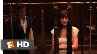 Fifty Shades of Grey (6/10) Movie CLIP - The Play Room (2015) HD