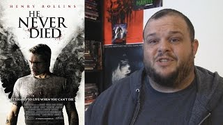 He Never Died (2015) movie review horror comedy drama