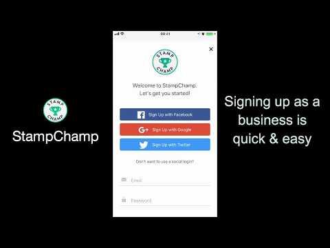 Stamp Champ - Business Setup on Youtube