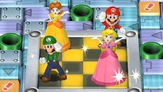 Mario Party 9 - All Brainy Minigames| Cartoons Mee