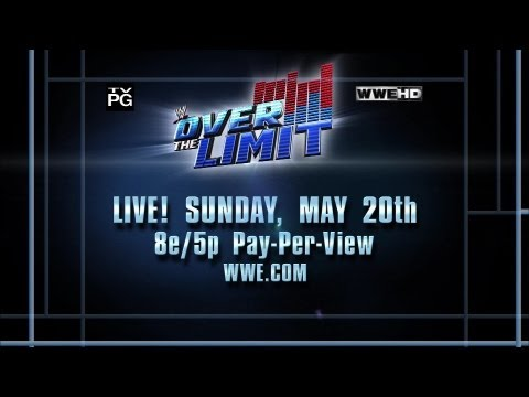 Over The Limit live on pay-per-view on Sunday, May 20 2012