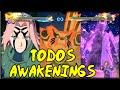Naruto Shippuden: Ultimate Ninja Storm 4 Todos Os Awake