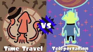 GO TEAM TELEPORTATION! (Splatoon 2 Splatfest) by SkulShurtugalTCG