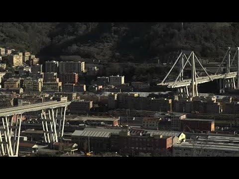 Γένοβα: Η γέφυρα Μοράντι τέσσερις μήνες μετά