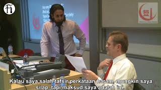 Video Hamza Tzortzis Sergah Profesor Ateis Penipu MP3, 3GP, MP4, WEBM, AVI, FLV Februari 2019