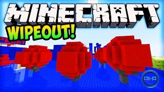 Minecraft Wipeout - TOTAL WIPEOUT CHALLENGE! - Minecraft w/ Ali-A!