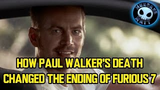 Nonton How Paul Walker's death changed the ending of FURIOUS 7 Film Subtitle Indonesia Streaming Movie Download