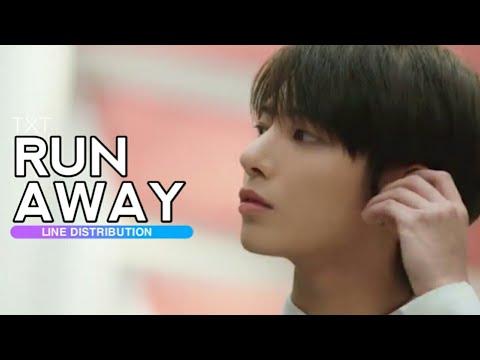 TXT - Run Away MV Teaser 2 | Line Distribution