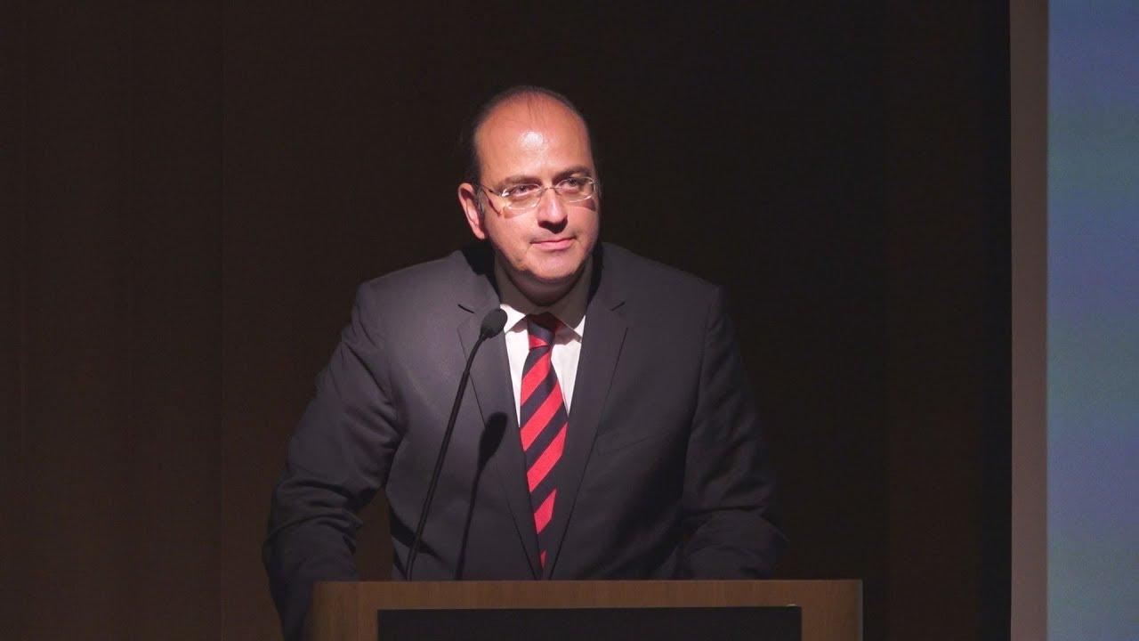 Ομιλία του Μακ. Λαζαρίδη στην παρουσίαση της ανανεωμένης ιστοσελίδας και νέας εφαρμογής του ΑΠΕ ΜΠΕ