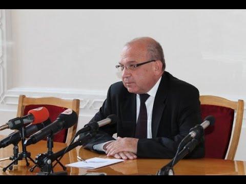 Володимир Гунчик дав прес-конференцію за підсумками дворічної діяльності на посаді голови облдержадміністрації