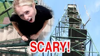 Pregnant Girl Climbs SCARY Tower!Janna is 23 weeks pregnant and the pregnant lady went camping too! She even climbed the SCARY tower being pregnant with our baby girl and everything! Pregnancy update and pregnancy haul coming up in the next video!Subscribe to NEVER miss a video again! https://goo.gl/BlW7OUNEW BABY GIRL Videos!!! 👶🏼👧🏼😍 https://goo.gl/rThwPw🍼👶🏼 Cute Baby Talmage Videos: https://goo.gl/rThwPw***********************-*************-*****************************Send us something and we'll try to give you a shoutout in the vlog! Janna and BradenPO Box 1942Provo, UT 84603-1942************************************************We'd LOVE to connect with YOU!*Facebook - BRAND NEW!@Janna and Braden*Snapchat - Mini vlogs!@colemanbr*Instagram - Daily postings!@JannaandBraden@jannafayecolemanTWITTER@JannandbradenSUPER FAN - Contribute to closed captioning - http://www.youtube.com/timedtext_cs_panel?tab=2&c=UCzbFbm5T-Y5eBzpTAm0wb1A--------------------------------------------------------------------------------Music: Road Trip, Back to Summer, DreamsIntro music - Safety Net--------------------------------------------------------------------------------FTC Disclaimer: This video is not a sponsored video.For business or personal inquiries or collaborations contact: jannaandbraden@gmail.com