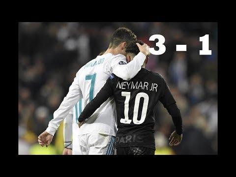 Real Madrid vs PSG 1-3- All Goals & Highlights (Arabic)-14/02/2018 ● HD
