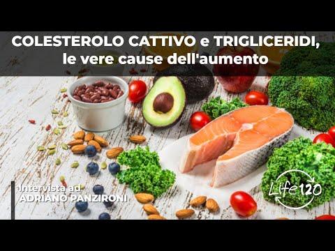 la vera causa del colesterolo cattivo e dei trigliceridi alti