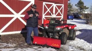 7. MrTruck ATV Snow Plow install and SureCan gas can review