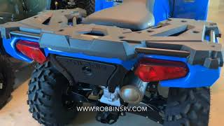 1. 2019 Polaris Sportsman 570 Velocity Blue