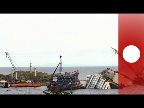 Italy: salvage operation for Costa Concordia set to begin